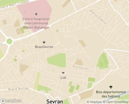 Localisation Cap Assistance Vie - 93270 - Sevran