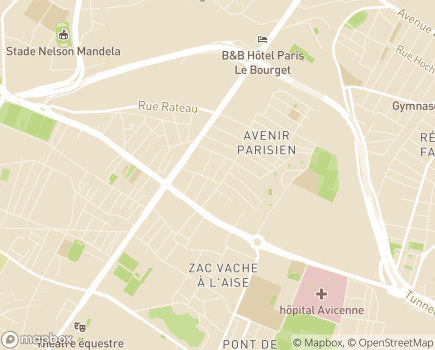 Localisation MECS La Villa - 93120 - La Courneuve