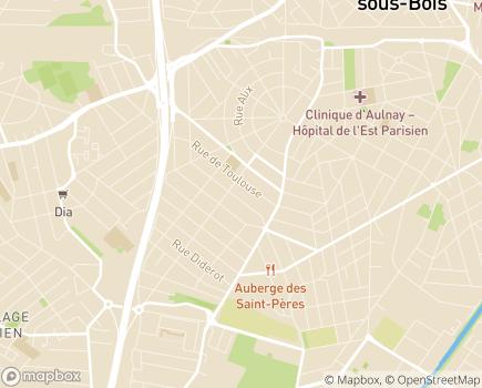 Localisation Résidence Amaryllis - 93600 - Aulnay-sous-Bois