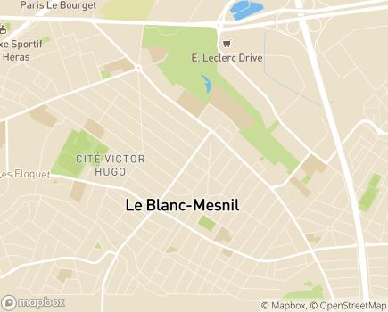 Localisation CMP La Maison - 93150 - Le Blanc-Mesnil