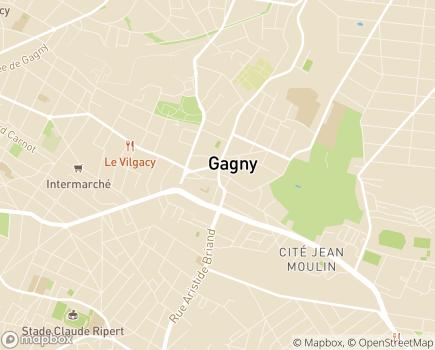 Localisation ONELA Agence de Gagny - 93220 - Gagny