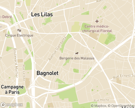Localisation APAD Services - 93170 - Bagnolet
