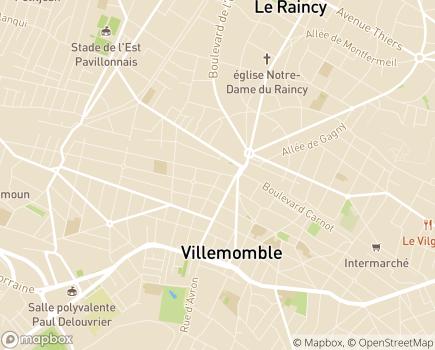 Localisation Relais Villemomble - Groupe VYV - 93250 - Villemomble