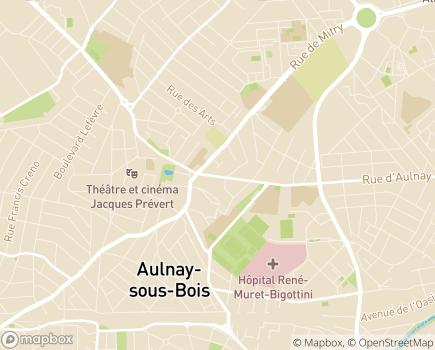 Localisation Résidence Autonomie Le Préfet Chaleil - 93600 - Aulnay-sous-Bois