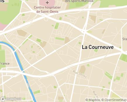 Localisation Hetep Iaout Services - 93120 - La Courneuve