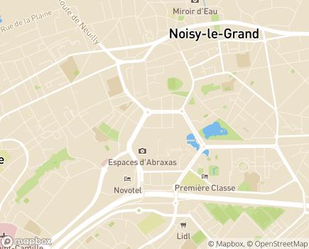 Localisation APAJH Langage et Intégration - 93160 - Noisy-le-Grand