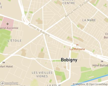 Localisation Centre Home Meitis Bobigny - 93000 - Bobigny