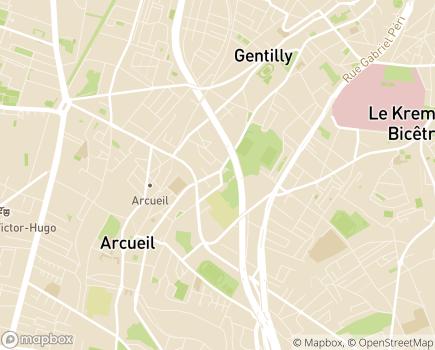 Localisation Centre de Rééducation Professionnelle Vivre - 94117 - Arcueil