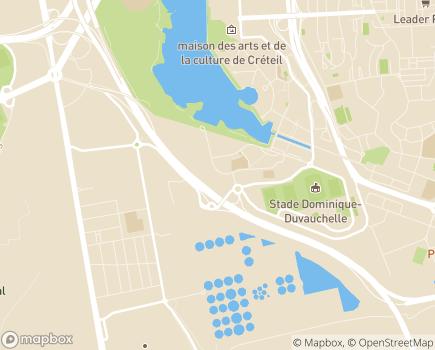 Localisation Foyer d'Accueil Médicalisé de la Pointe du Lac - 94000 - Créteil