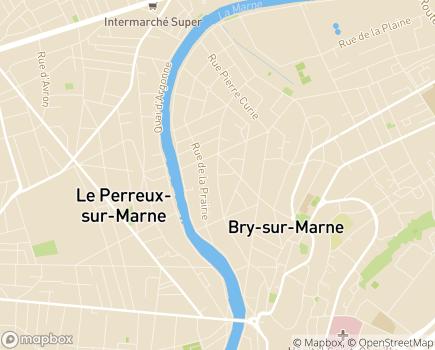 Localisation ESAT Léopold Bellan - 94360 - Bry-sur-Marne