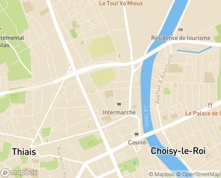 Localisation Foyer d'Hébergement Marius et Odile Bouissou - 94600 - Choisy-le-Roi