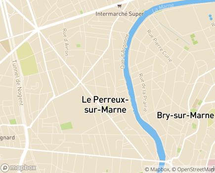 Localisation Centre Communal d'Action Sociale - 94170 - Le Perreux-sur-Marne
