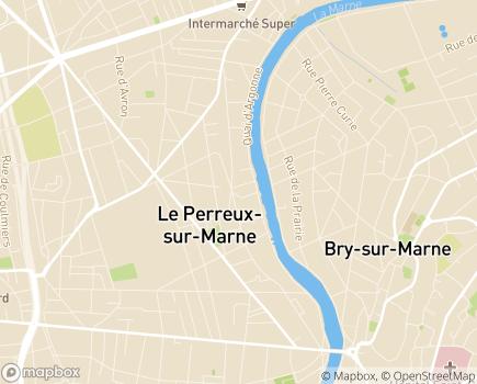 Localisation Korian Les Lierres - 94170 - Le Perreux-sur-Marne