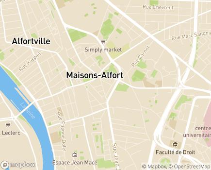 Localisation Résidence Le Temps des Roses - 94700 - Maisons-Alfort