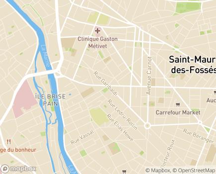 Localisation ESAT Annexe - 94100 - Saint-Maur-des-Fossés