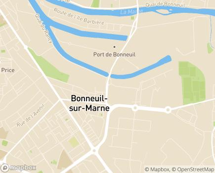 Localisation Maison d'Accueil Spécialisée de Bonneuil - 94862 - Bonneuil-sur-Marne