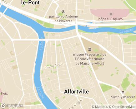 Localisation SAVS - 94140 - Alfortville