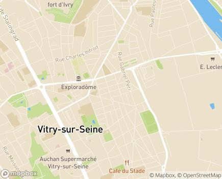 Localisation FAM Silvae - 94401 - Villecresnes