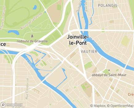 Localisation EHPAD Les Jardins des Acacias - 94410 - Saint-Maurice