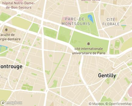 Localisation MSA - Bureau Paris Petite-Couronne (75, 92, 93, 94) - 94250 - Gentilly