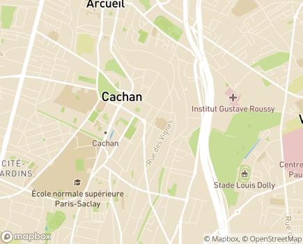 Localisation Association Cachanaise de Soins Infirmiers à Domicile - 94230 - Cachan