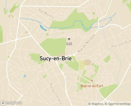 Localisation Résidence de la Cité Verte - Groupe ABCD - 94370 - Sucy-en-Brie