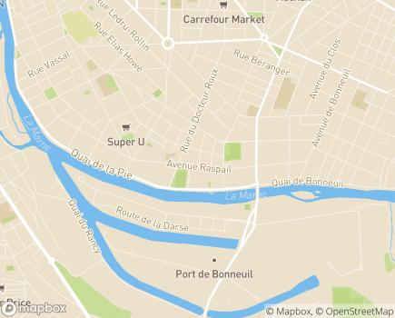 Localisation ESAT Les Ateliers de Polangis - 94100 - Saint-Maur-des-Fossés