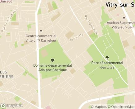 Localisation CLIC 7 - 94400 - Vitry-sur-Seine