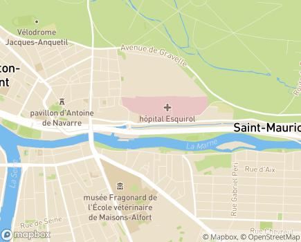 Localisation Colisée - Résidence Le Val d'Osne - 94410 - Saint-Maurice