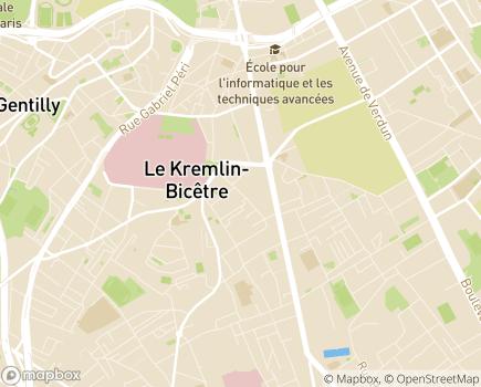 Localisation Foyer de Jour Les Jardins de l'ETAI - 94270 - Le Kremlin-Bicêtre
