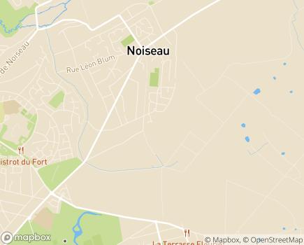 Localisation Maison d'Accueil Spécialisée de Noiseau - 94370 - Noiseau