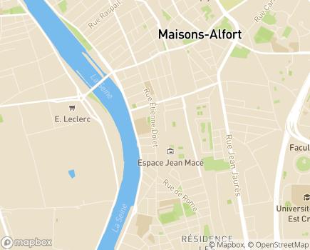 Localisation ESAT Alter Ego - 94146 - Alfortville