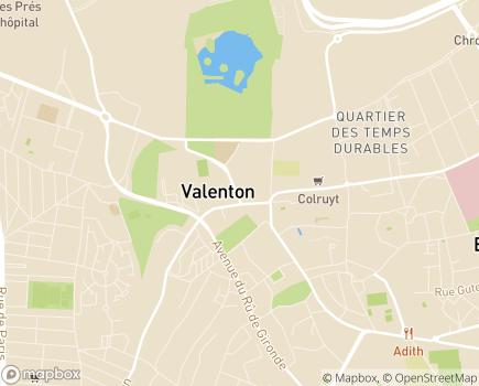 Localisation EHPAD Résidence Les Pastoureaux - 94460 - Valenton
