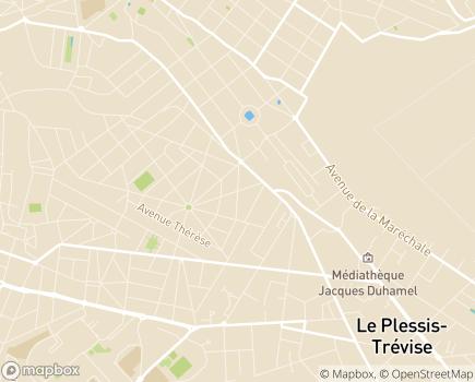 Localisation ESAT Le Manoir - 94500 - Champigny-sur-Marne