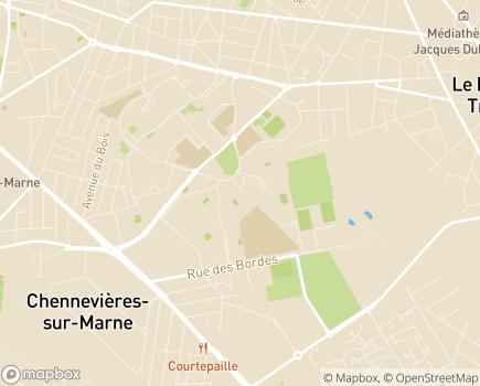 Localisation Service Habitat - 94430 - Chennevières-sur-Marne