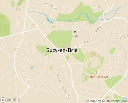 Localisation Centre Communal d'Action Sociale - 94370 - Sucy-en-Brie