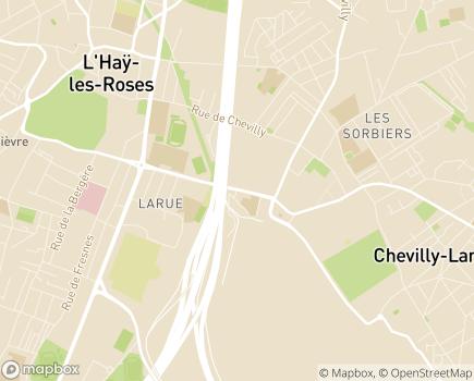 Localisation Centre Communal d'Action Sociale - 94550 - Chevilly-Larue