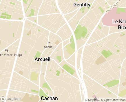 Localisation La Maison du Grand Cèdre EHPAD - Adef Résidences - 94110 - Arcueil