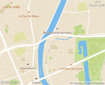 Localisation Entreprise adaptée Alter Ego - 94607 - Choisy-le-Roi