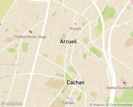 Localisation Centre Erik Satie centre d'insertion et accompagnement social - 94110 - Arcueil