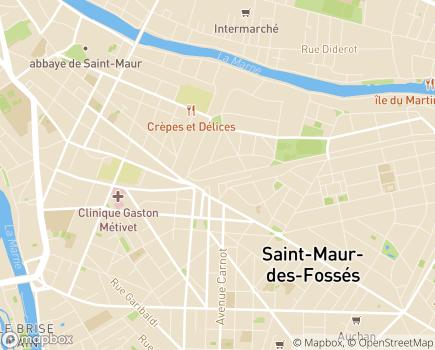 Localisation UDSM SAMSAH Service d'Accompagnement Médico-social pour Adultes Handicapés - 94100 - Saint-Maur-des-Fossés