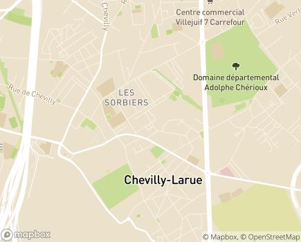 Localisation CLIC 6 - 94550 - Chevilly-Larue