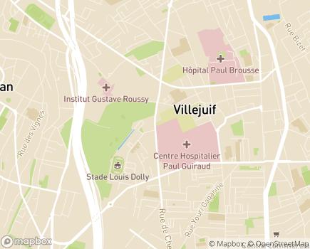 Localisation MAS Les Hautes Bruyères - 94800 - Villejuif