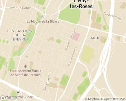 Localisation SAVS SAMSAH L'Haÿ-les-Roses - 94240 - L'Haÿ-les-Roses