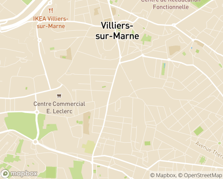 Localisation Domitys Les Raisins Bleus - Résidence avec Services - 94350 - Villiers-sur-Marne