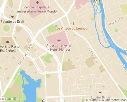 Localisation Résidence La Cristolienne - Groupe ABCD - 94000 - Créteil