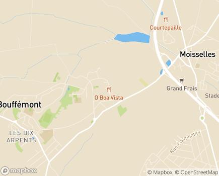 Localisation Foyer de Vie Louis Fièvet (APF) - 95570 - Bouffémont