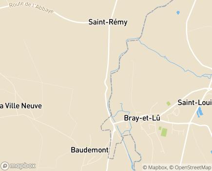 Localisation Colisée - Résidence du Manoir - 95710 - Bray-et-Lû
