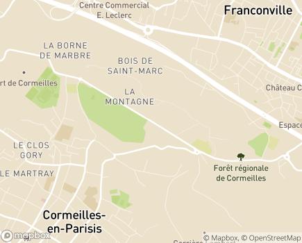 Localisation FAM La Montagne - 95240 - Cormeilles-en-Parisis