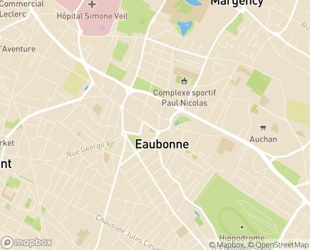 Localisation Korian La Croisée Bleue - 95600 - Eaubonne